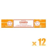 Satya Natural Series - Champa - 15g x 12