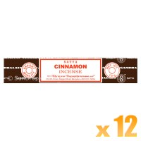Satya Natural Series - Cinnamon - 15g x 12