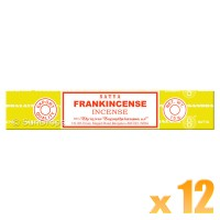 Satya Natural Series - Frankincense - 15g x 12