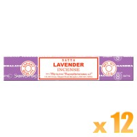 Satya Natural Series - Lavender - 15g x 12