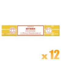 Satya Natural Series - Myrrh - 15g x 12