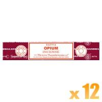 Satya Natural Series - Opium - 15g x 12