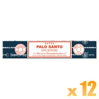 Satya Natural Series - Palo Santo (Holy Wood) - 15g x 12