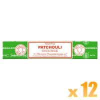 Satya Natural Series - Patchouli - 15g x 12