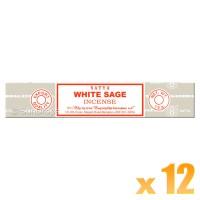 Satya Natural Series - White Sage - 15g x 12