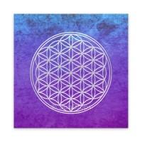 Triskele Art Card - Flower of Life