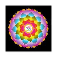 Triskele Art Card - Ohm Flower