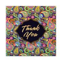Triskele Art Card - Thank You Paisley