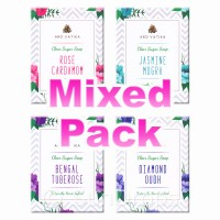 Arovatika Clear Sugar Soaps - Mixed Pack - Florals