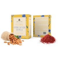 Arovatika Premium Silk Soap - Almond Saffron Goatmilk