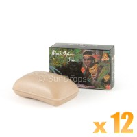 Kamini Vegetable Soap - Black Opium x 12