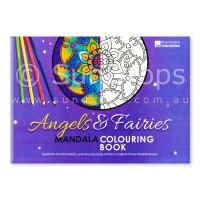 Illumination Mandalas - Angels & Fairies Mandala Colouring Book