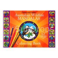 Illumination Mandalas - Australian Wildlife Mandalas Colouring Book (Orange)