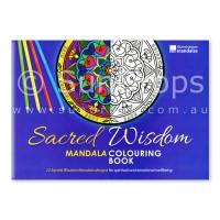 Illumination Mandalas - Sacred Wisdom Mandala Colouring Book