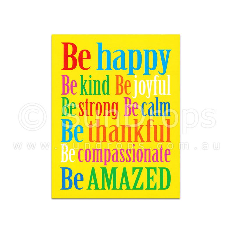 Harmony Magnet - Be Happy