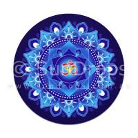 Harmony Magnet - Blue Om Mandala