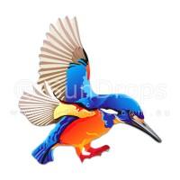 Nature Magnet - Sacred Kingfisher