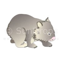 Nature Magnet - Wombat