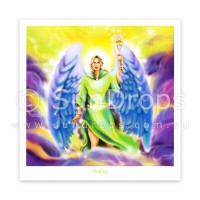 Greeting Card - Archangel Raphael - Healing