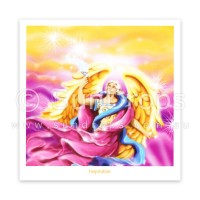 Greeting Card - Archangel Uriel - Inspiration