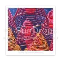 Greeting Card - Four Divine Abodes