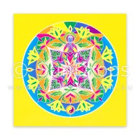 Greeting Card - Lotus Buddha - Path