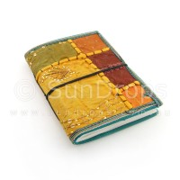 Small Patchwork Journal - Orange