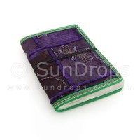 Small Patchwork Journal - Purple
