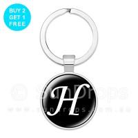 Alphabet Keyring - H