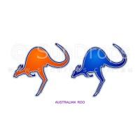 Sunlight Window Sticker - Australian Roo