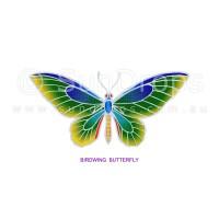 Sunlight Window Sticker - Birdwing Butterfly
