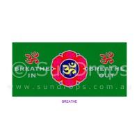 Sunlight Window Sticker - Breathe