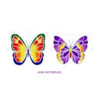 Sunlight Window Sticker - Bush Butterflies
