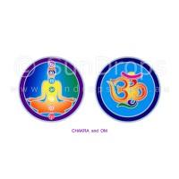 Sunlight Window Sticker - Chakra and Om