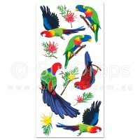 Australian Wall Art Stickers - Aussie Birds
