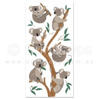Australian Wall Art Stickers - Koalas