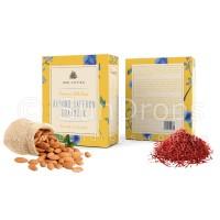 Arovatika Premium Silk Soap - Almond Saffron Goatmilk