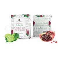 Arovatika Clear Sugar Soap - Pomegranate with Fresh Kerala Lime