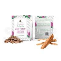 Arovatika Clear Sugar Soap - Woody Sandal and Oudh