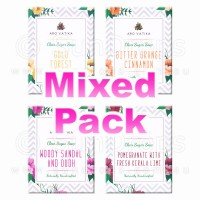 Arovatika Clear Sugar Soaps - Mixed Pack - Refreshing Mix