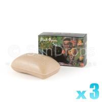 Kamini Vegetable Soap - Black Opium x 3
