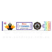Ambika Incense Sticks - Divine 7 Chakra - 1 Packet / 15 Sticks