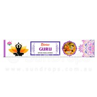 Ambika Incense Sticks - Divine Guru - 1 Packet / 15 Sticks