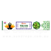 Ambika Incense Sticks - Divine Tulasi - 1 Packet / 15 Sticks