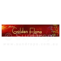 Balaji Incense Sticks - Golden Flora - 1 Packet / 15 Sticks