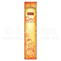 Balaji Incense Sticks - Red - 1 Packet / 15 Sticks
