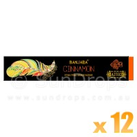 Banjara Incense Smudge Sticks - Cinnamon - 15g x 12