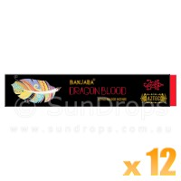 Banjara Incense Smudge Sticks - Dragon Blood - 15g x 12