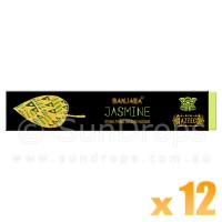 Banjara Incense Smudge Sticks - Jasmine - 15g x 12