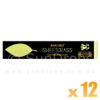 Banjara Incense Smudge Sticks - Sweetgrass - 15g x 12